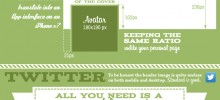Social Media Size Cheat Sheet – new Google+ Cover incl. [INFOGRAPHIC]