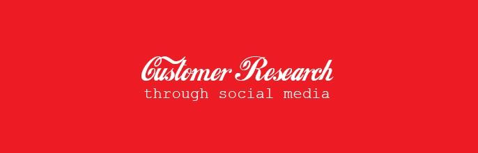 Customer research through Social Media – I'm Lovin' It!
